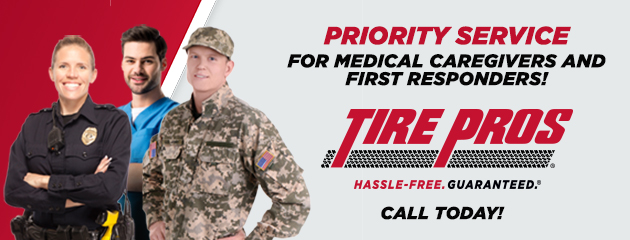 Priority Service for Medical Caregivers and First Repsonders